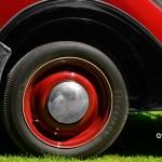 Adler Trumpf Junior Cabriolimousine Reifen hinten