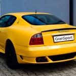 Maserati GranSport Coupé Heckansicht