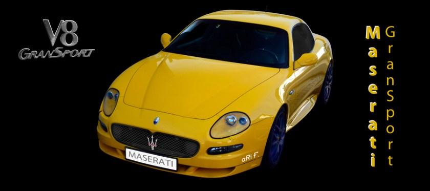 Maserati GranSport Poster by aRi F.