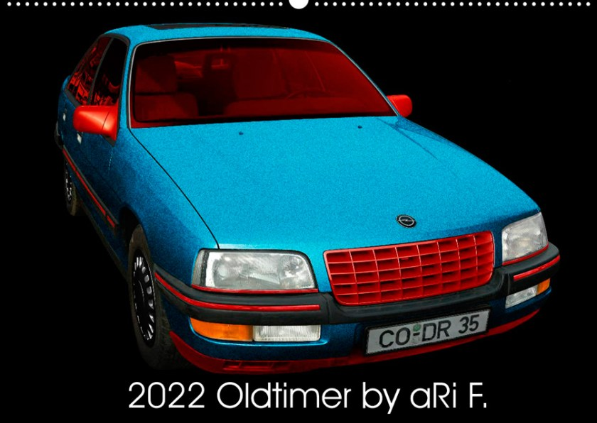 2022 Oldtimer Kalender by aRi F.