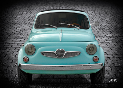 Steyr-Puch 500 Modell Fiat Poster