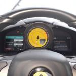 Ferrari F12 Instrumentenanzeige