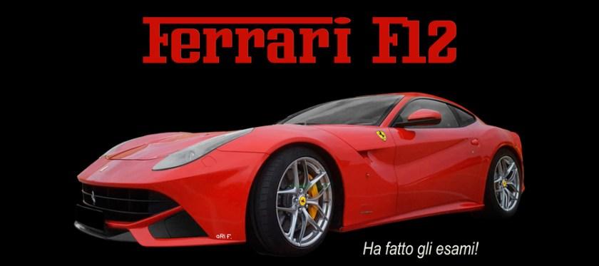 Ferrari F12 Poster Automotive Photography by aRi F.