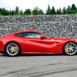 Ferrari F12 Berlinetta side profil