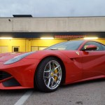 Ferrari F12 side view Poster Automotive Photography by aRi F.