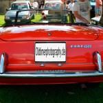Fiat 1500 Spider Heckansicht