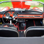 Fiat 1500 Spider Interieur