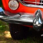 Fiat 1500 Spider Stoßfänger Detailansicht