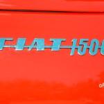 Fiat 1500 Spider mit Logo am Heck