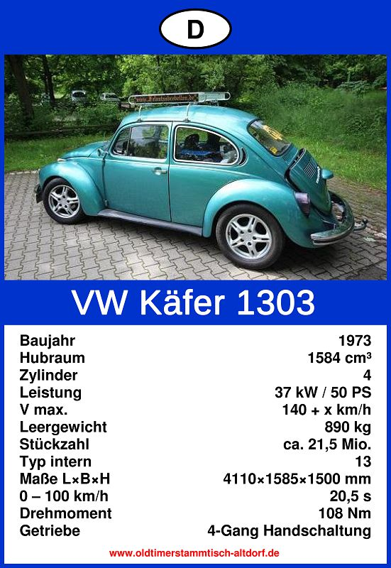 Wellein, Stefan - VW Käfer 1303