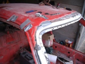 TR7-screen-frame-test-fit
