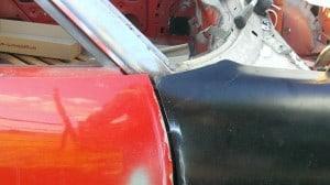 TR7 wing and door alignment