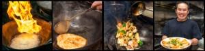 Pho Ap Chao Do Bien (Fried Rice Noodles w/Seafood)