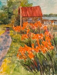 Milford - Live Cheap and Make Art -Day Lillies Woodland Park, DE