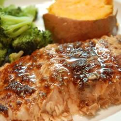 Grapevine Recipe  Salmon