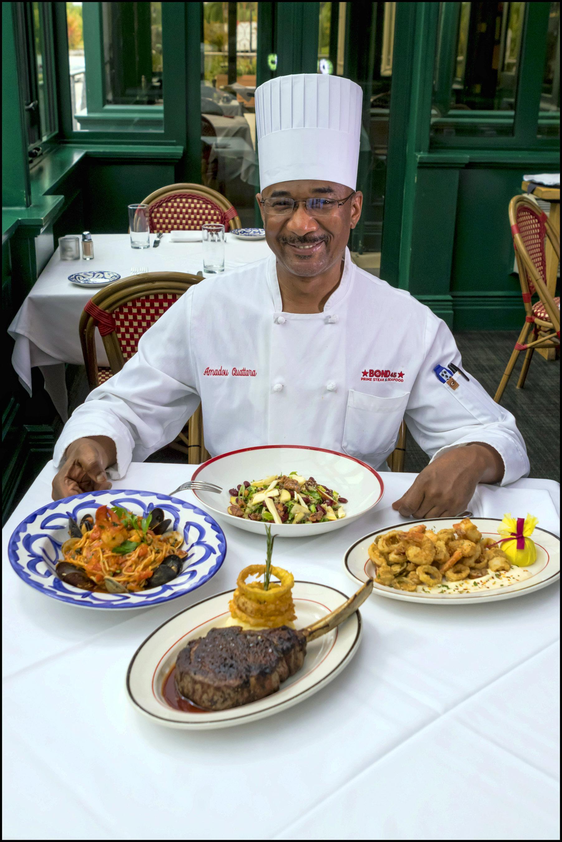 Chef Amadou Quattara