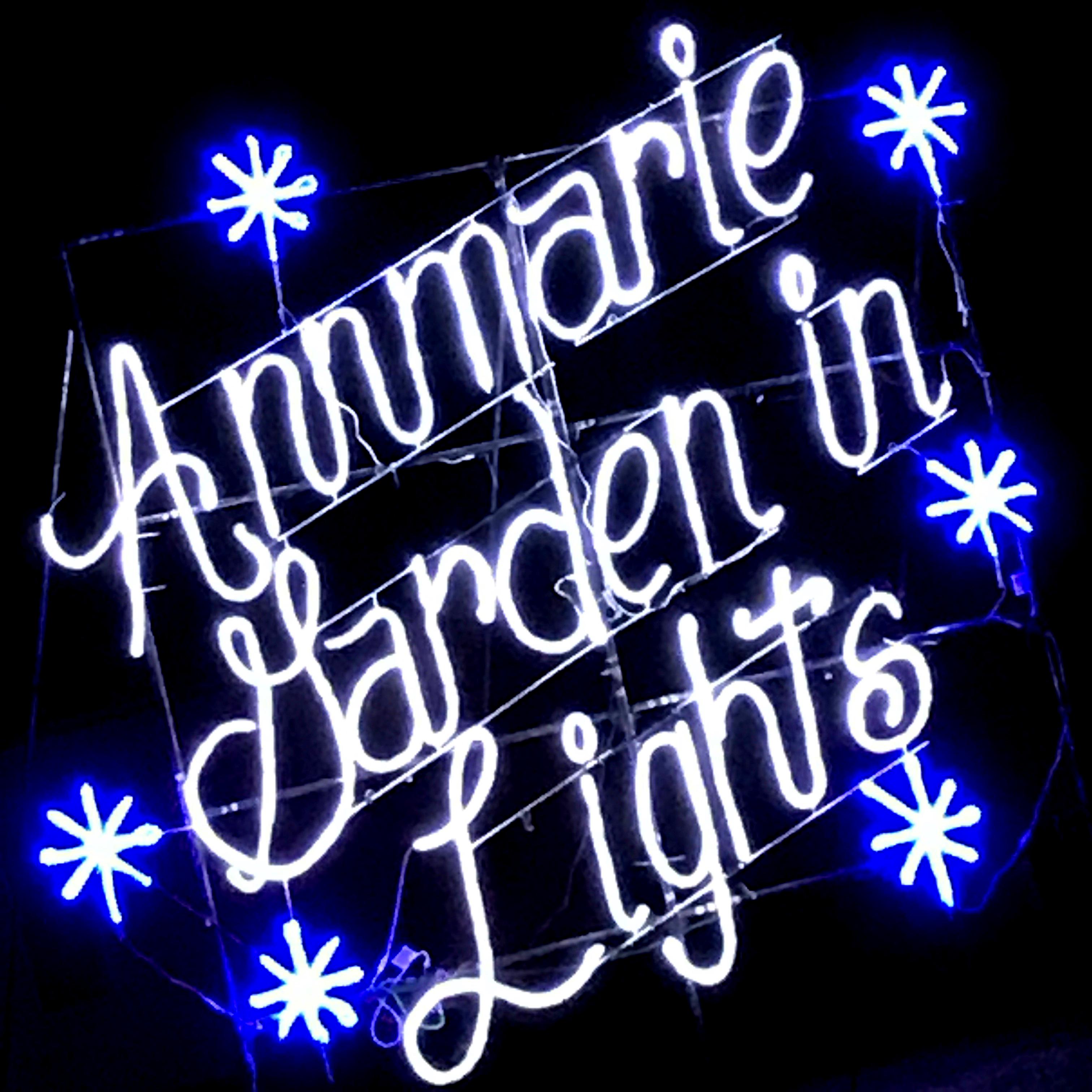 Annmarie Garden in Lights!
