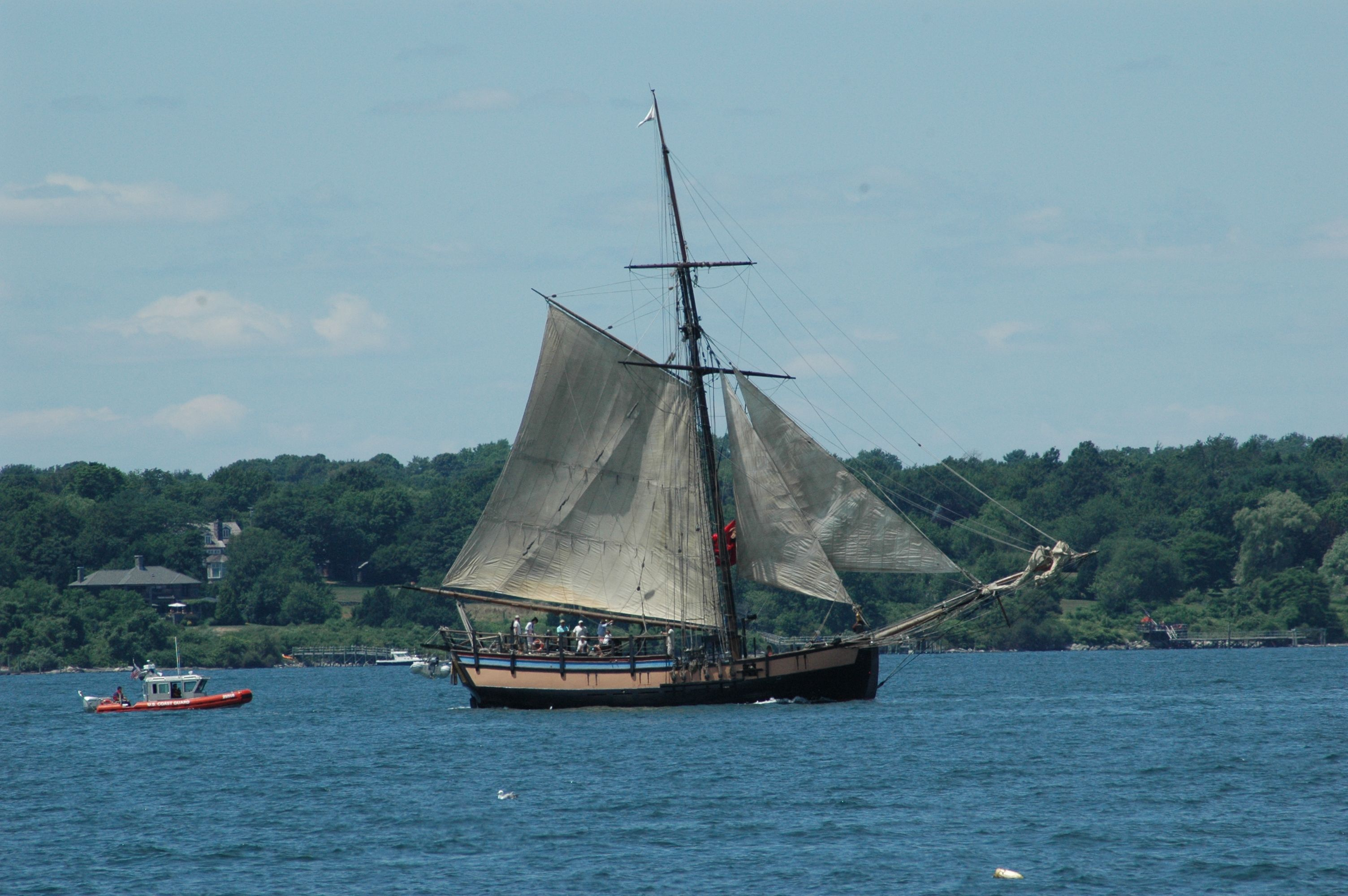 Tall Ship Providence Coming to Alexandria