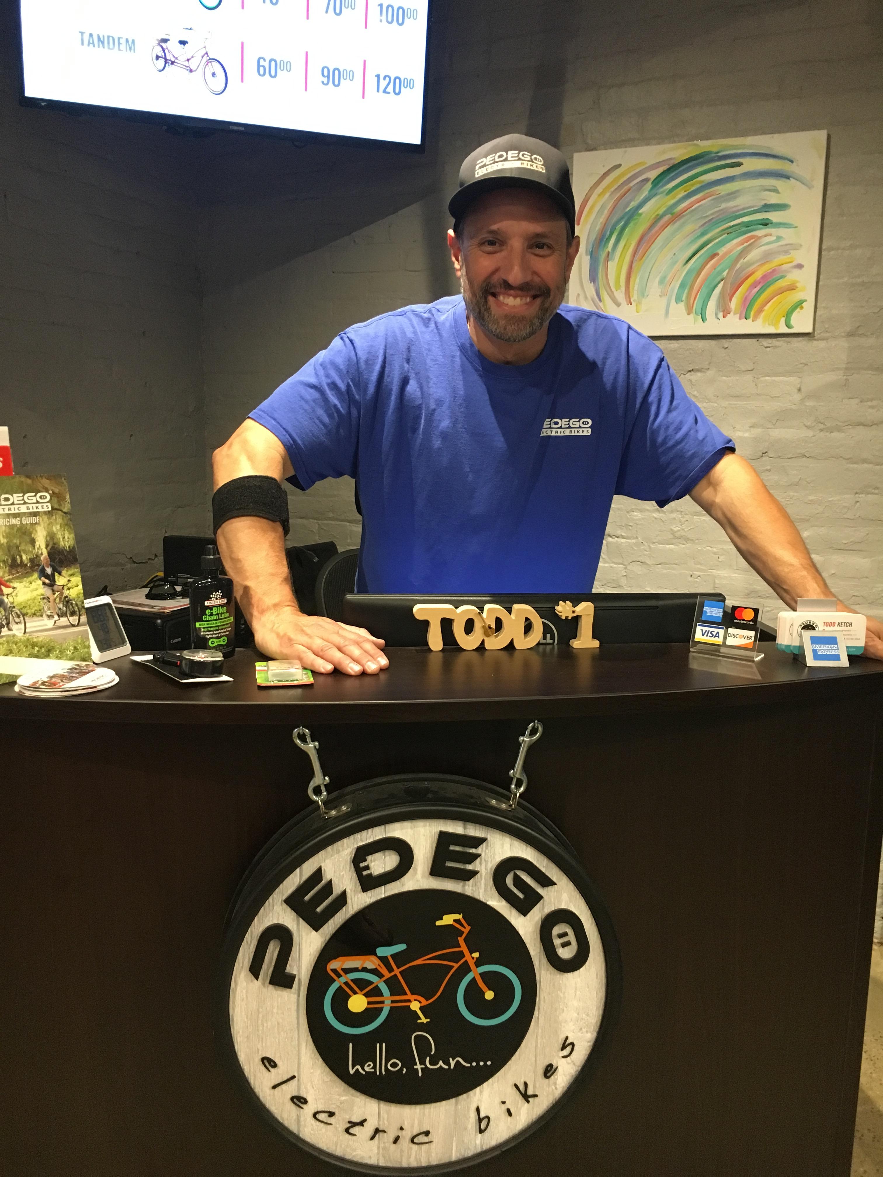 Pedego Electric Bikes are on the Run!