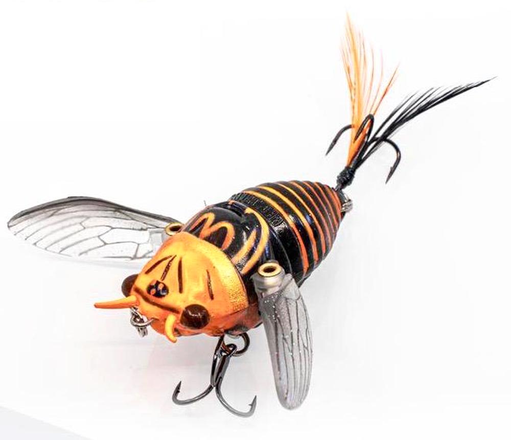 Angling Buzzes with Cicadas