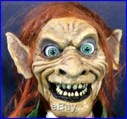 New Evil Leprechaun Ventriloquist Figure Moving Eyes Mouth ...