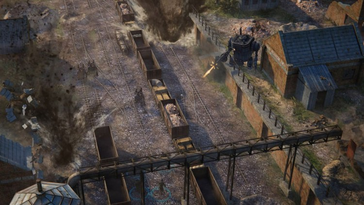 Iron Harvest Train Attack