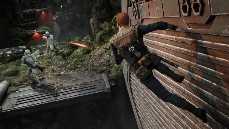 Star Wars Jedi Fallen Order Wall Running