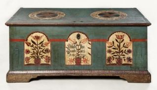 pennsylvaniagermanhopechest1784