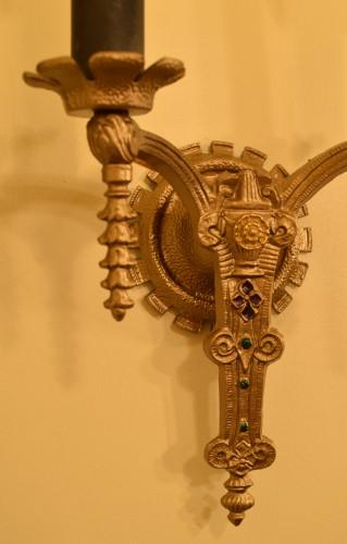 Arabesque Sconce detail
