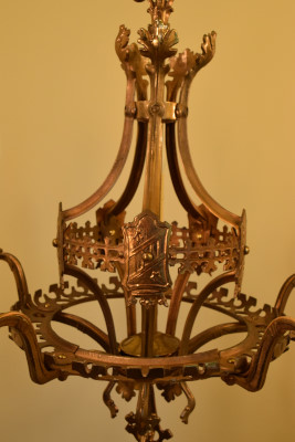 Brass Leaves, interior look