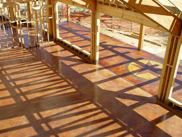 Building a Home? Stain at the Framing Stage