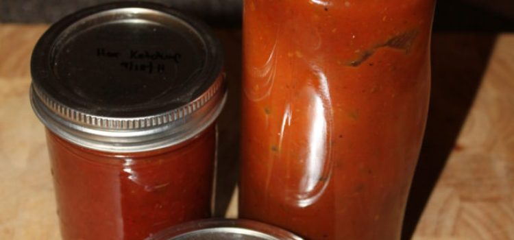 Sweet Heat for Your Meat! Our Hot and Spicy Ketchup Recipe – Fresh Or Canned