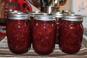 Strawberry Honey Jam - just 4 natural ingredients and oh so good!