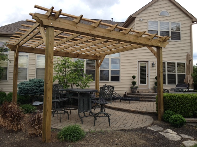 the secrets to building a beautiful pergola without breaking the bank. Black Bedroom Furniture Sets. Home Design Ideas