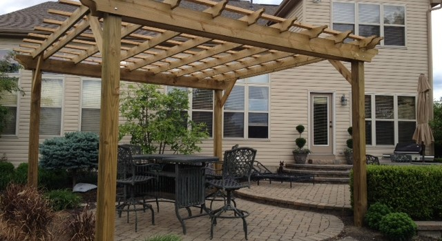 Pergolas, Arbors And Garden Structures – Building Our Farm By Building For Others