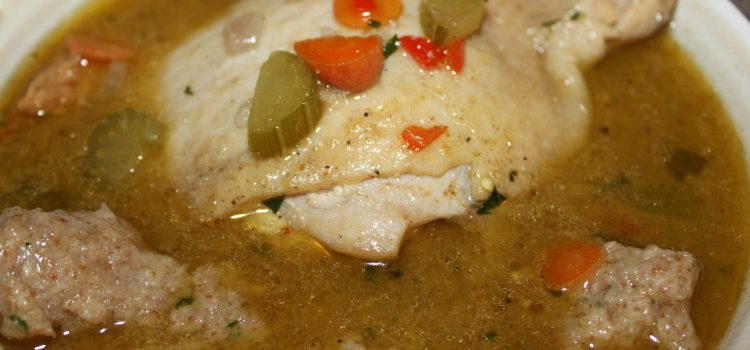 Rustic Chicken Soup Recipe – True Comfort Food!