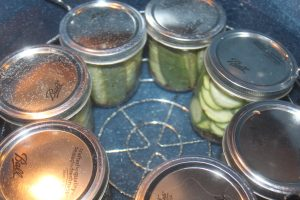 Pickles can be made by using the water bath method - be sure to follow a specific recipe