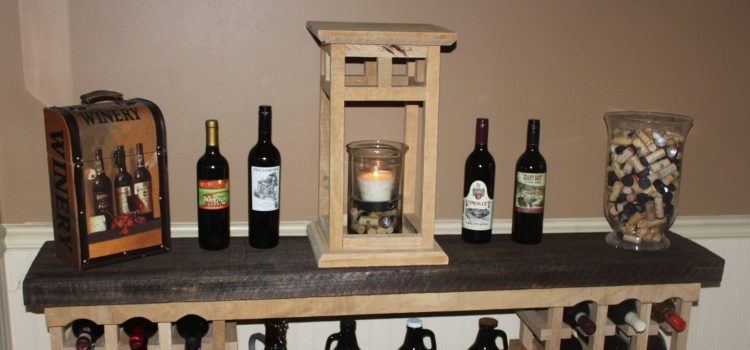 The DIY Rustic Wooden Lantern  –  Made From Pallets!