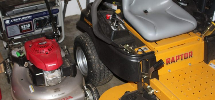 Preparing Equipment and Tools For Winter Storage – and Winter Use!