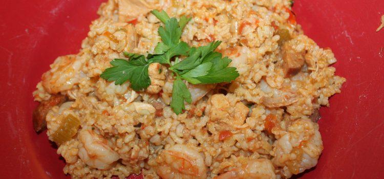 Chicken and Shrimp Jambalaya Recipe – Celebrating Fat Tuesday