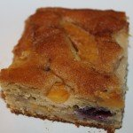 Peach and Blueberry Coffee Cake Recipe