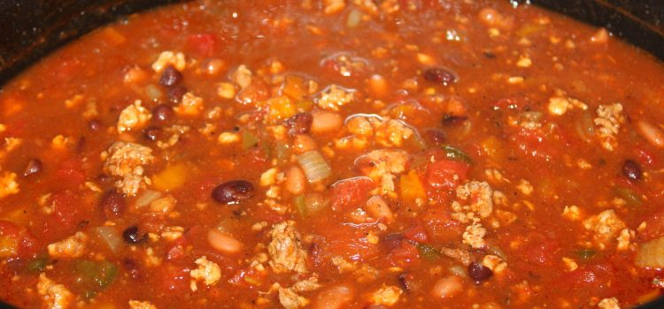 Thick and Hearty Crockpot Chili Recipe