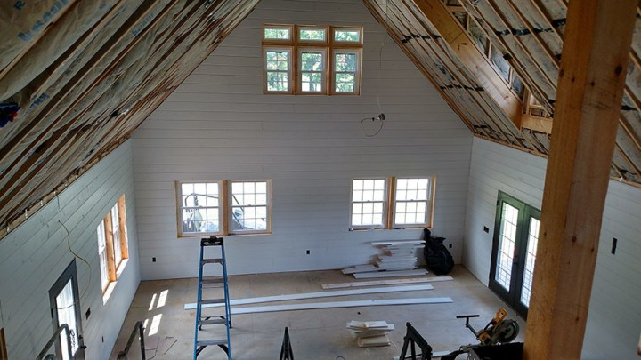 How To Install Shiplap Walls In Your Home   Our Top Tips and Hints simple house budget