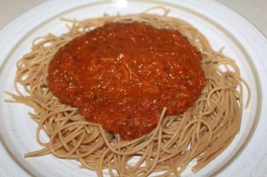 freezer spaghetti sauce