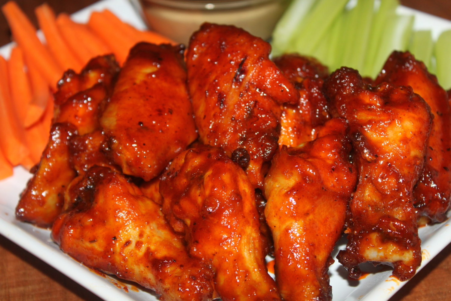 baked honey barbecue wings recipe crispy wings with a sweet