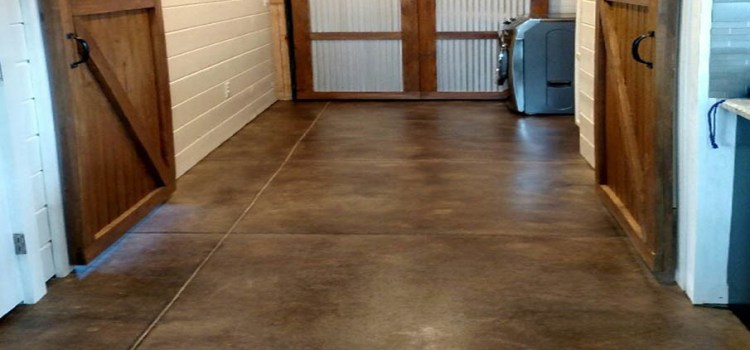 How To Acid Stain Concrete Floors, Patios or Basements In 4 Simple Steps