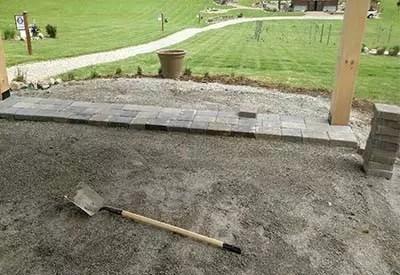 creating a diy paver patio 5 big keys