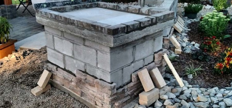The Building Of The Wood Fired Brick Pizza Oven – Part 2