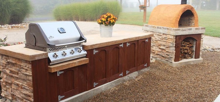 How To Make Homemade Concrete Countertops For Outdoor Kitchens