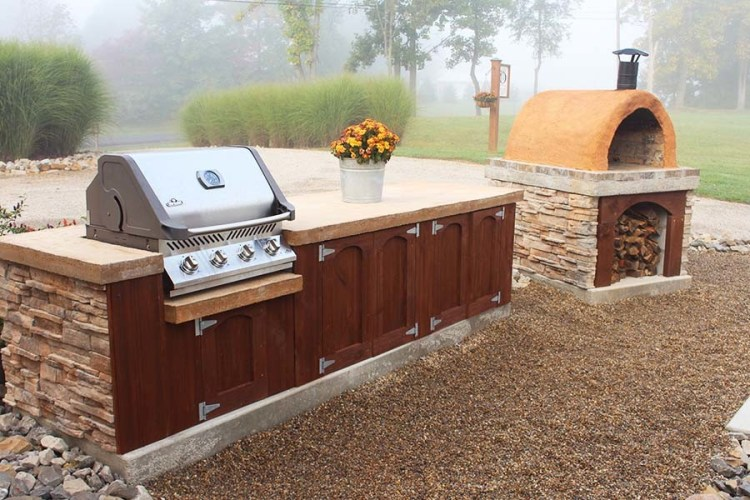 diy outdoor living - Diy Outdoor Kitchen